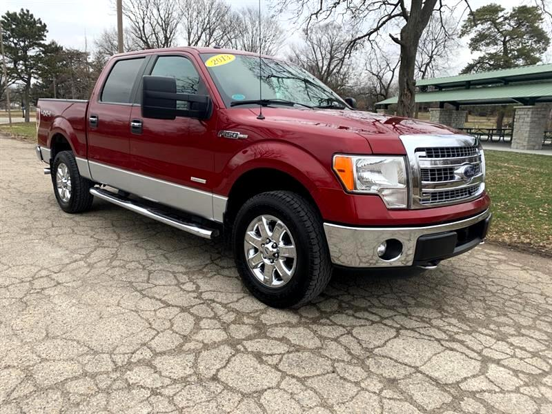 Ford F-150 XLT 4WD SuperCrew 6.5' Box 2013
