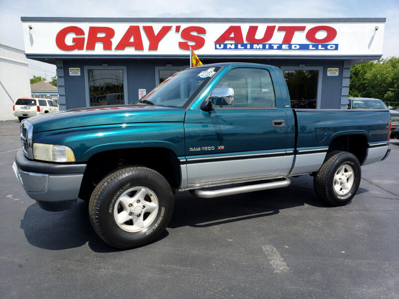 1997 Dodge Ram 1500 Laramie Short Bed 4WD