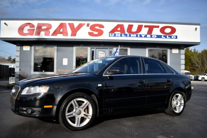 Audi A4 2.0 T with Multitronic 2007
