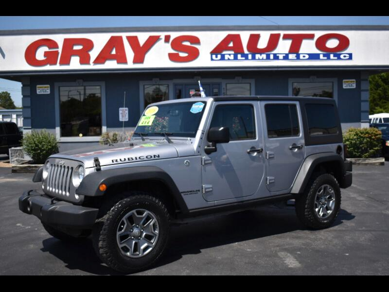 Jeep Wrangler Unlimited 4WD 4dr Rubicon 2016