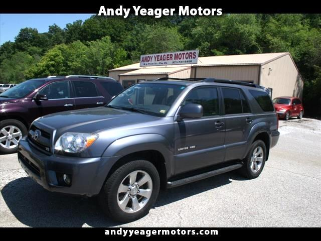 2007 Toyota 4Runner Limited 4WD V8