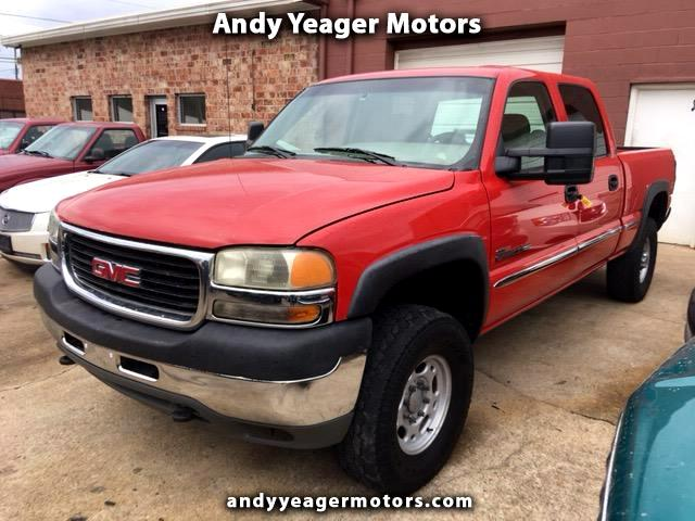 2001 GMC Sierra 2500HD SLE Crew Cab Long Bed 4WD