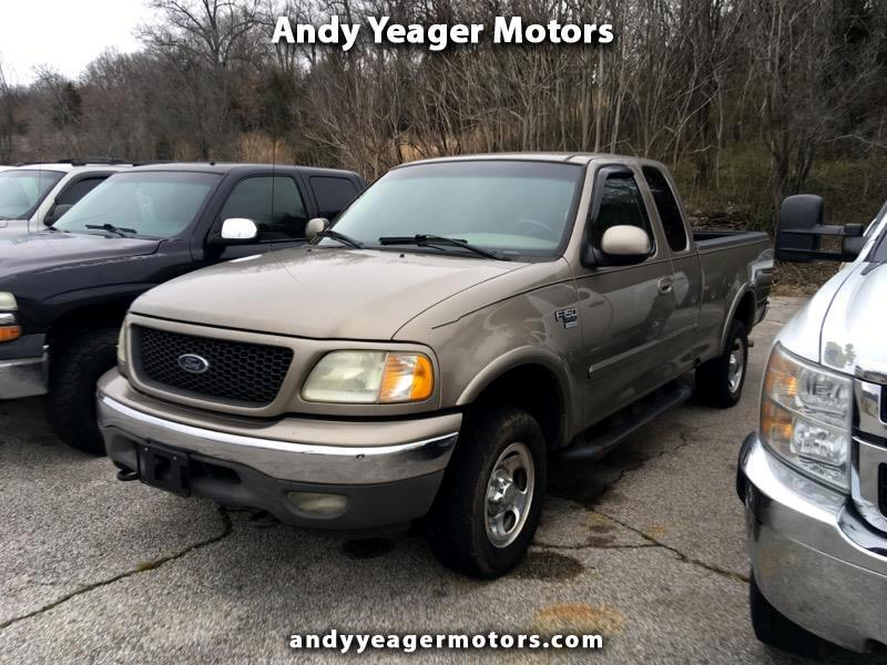 2002 Ford F-150 XLT SuperCab Long Bed 4WD