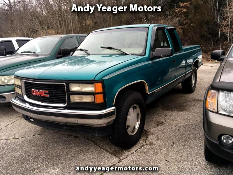 1996 GMC Sierra C/K 1500 Club Coupe 8-ft. Bed 4WD