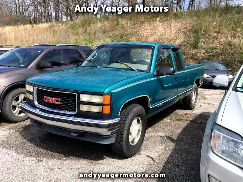 GMC Sierra C/K 1500 Club Coupe 8-ft. Bed 4WD 1996