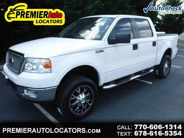 "2005 Ford F-150 4WD SuperCab 145"" Lariat"