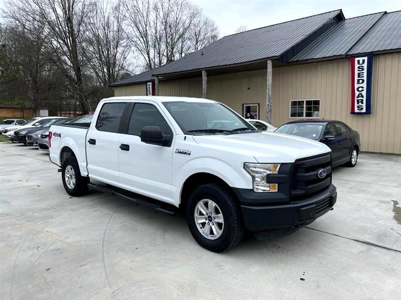 "Ford F-150 133"" WB 4WD 2015"
