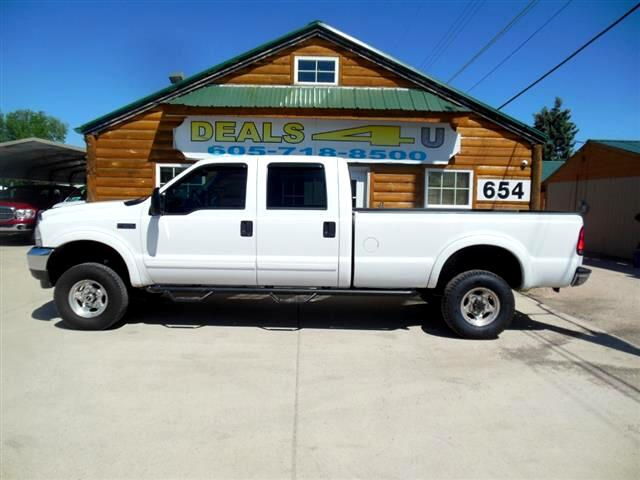 2001 Ford F-350 SD XL Crew Cab Short Bed 4WD