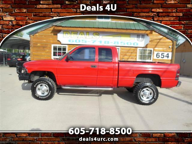 Dodge Ram 2500 Quad Cab Short Bed 4WD 2001