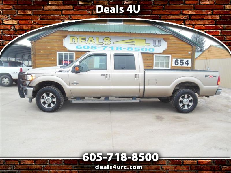 2011 Ford Super Duty F-350 SRW 4WD Crew Cab 156