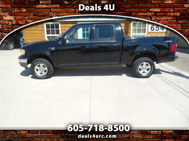 """Ford F-150 SuperCrew 139"""" King Ranch 4WD 2002"""