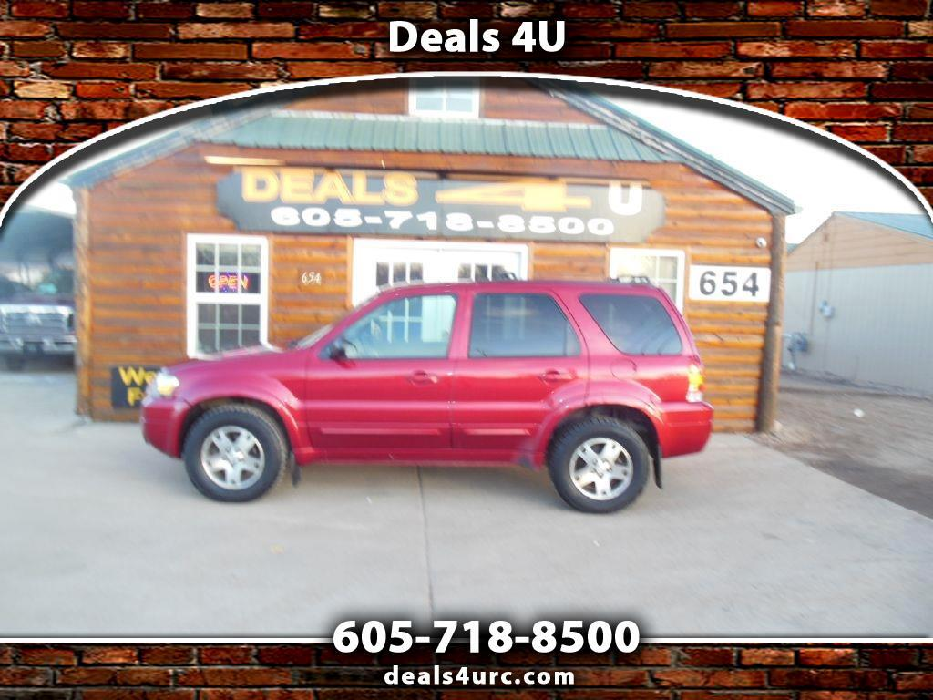 """Ford Escape 4dr 103"""" WB 3.0L Limited 4WD 2005"""