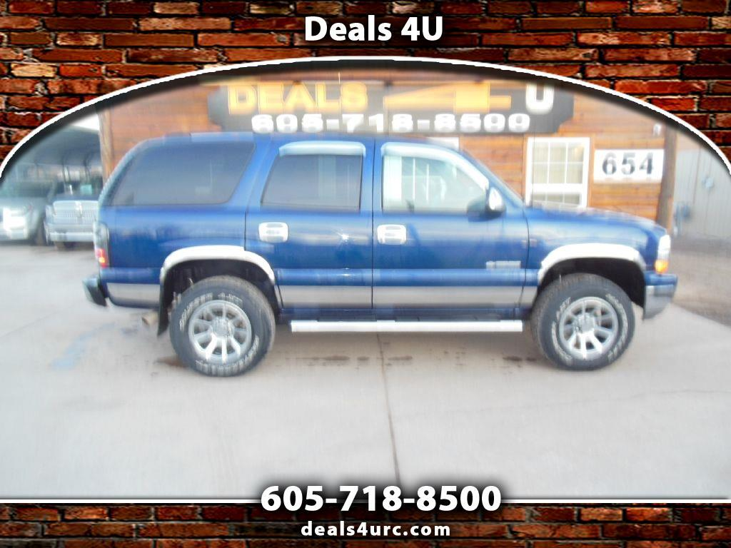 Chevrolet Tahoe 4dr 1500 4WD Commercial 2003