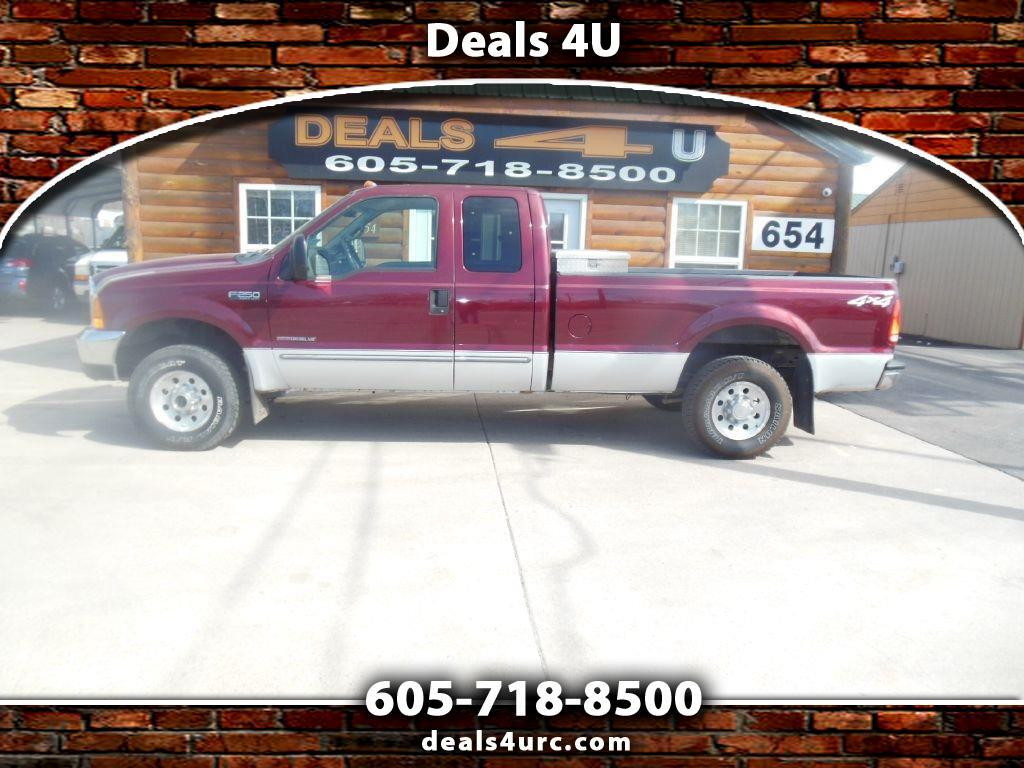 """Ford Super Duty F-250 Supercab 142"""" Lariat 4WD 2000"""