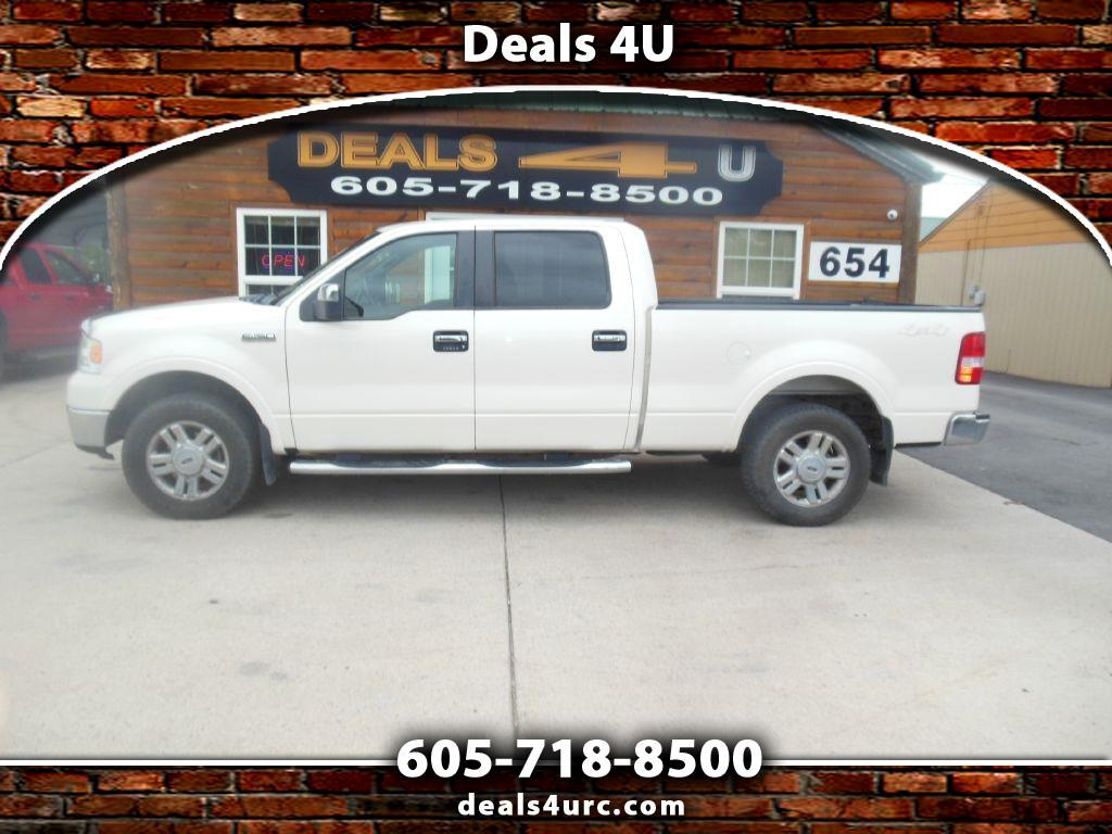 """Ford F-150 4WD SuperCrew 139"""" King Ranch 2007"""
