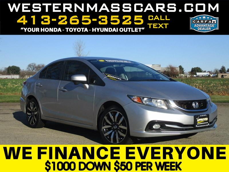 Honda Civic EX-L Sedan CVT 2014