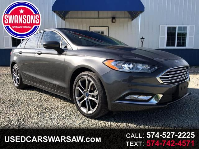 2017 Ford Fusion 4dr Sdn SPORT FWD