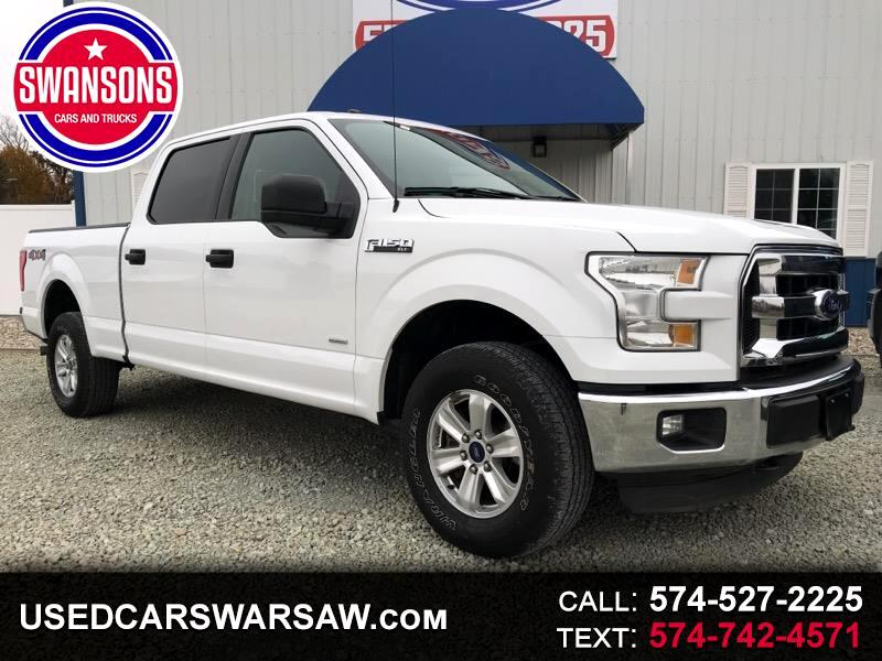 2016 Ford F-150 XLT 4WD SuperCrew 6.5' Box