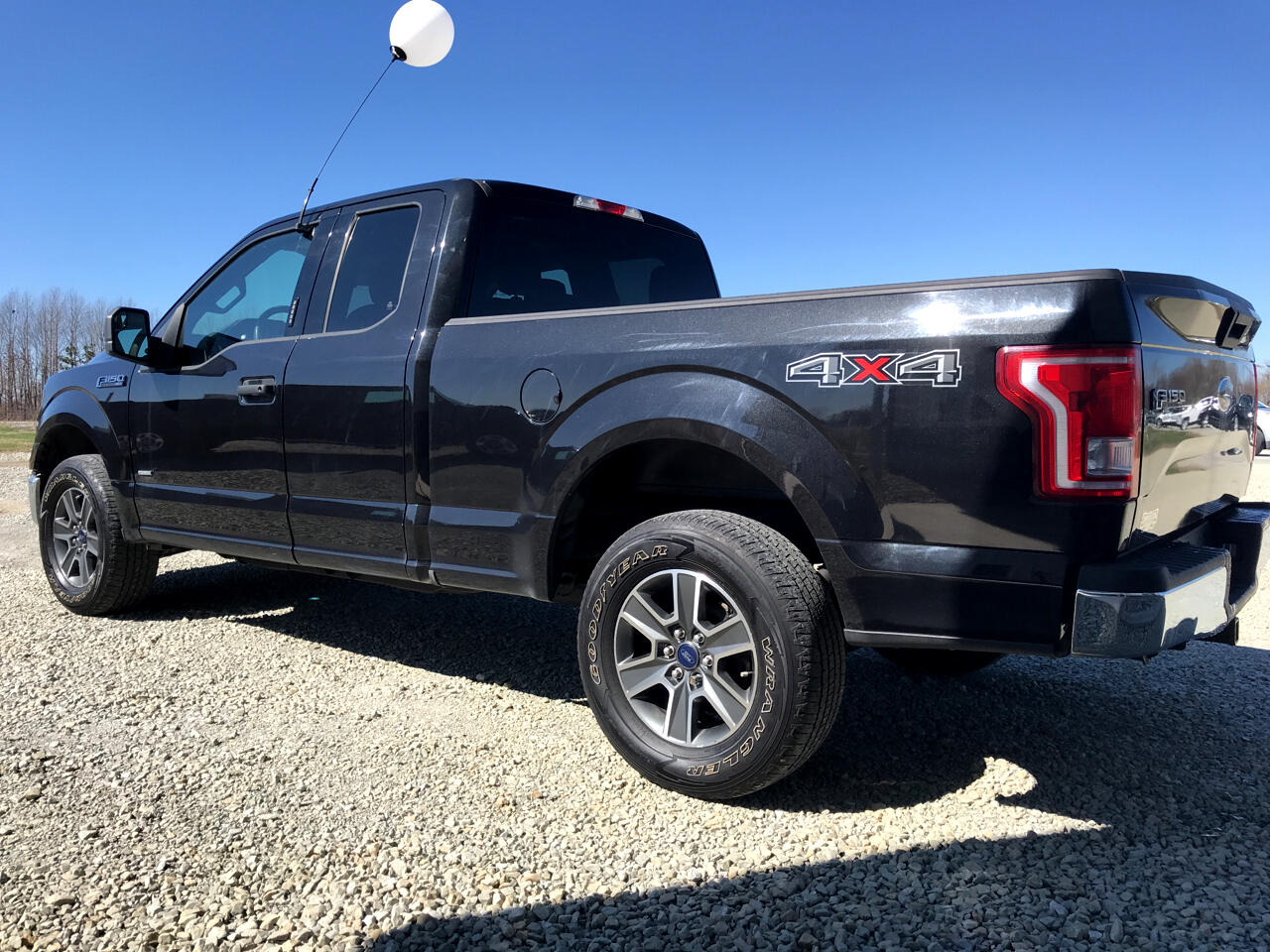 2015 Ford F-150 4WD SuperCab 145