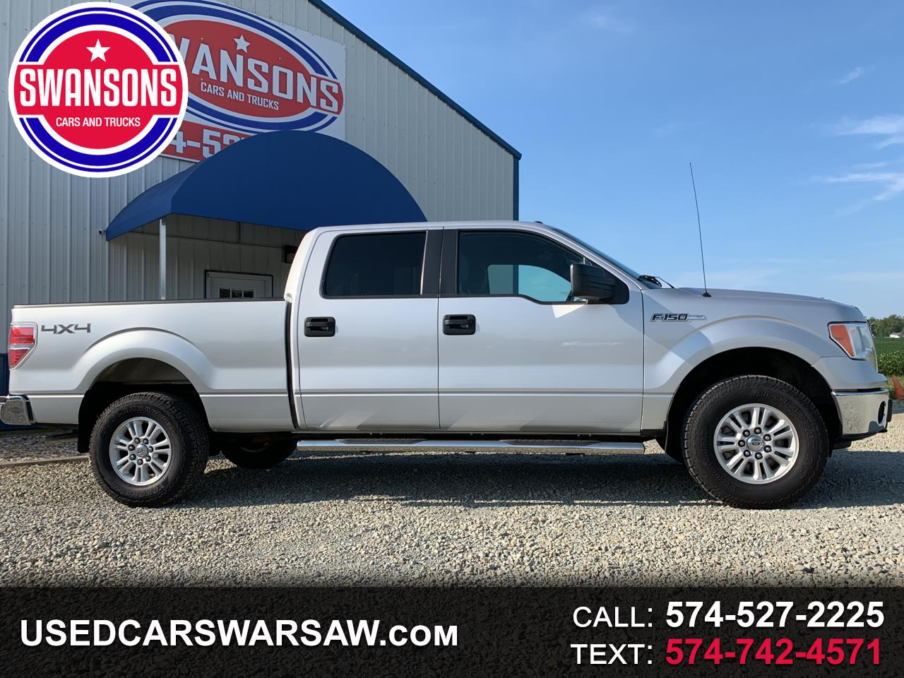 "2014 Ford F-150 4WD SuperCrew 157"" XLT w/HD Payload Pkg"