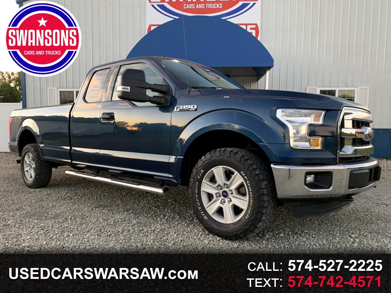 """2016 Ford F-150 4WD SuperCab 163"""" XLT w/HD Payload Pkg"""