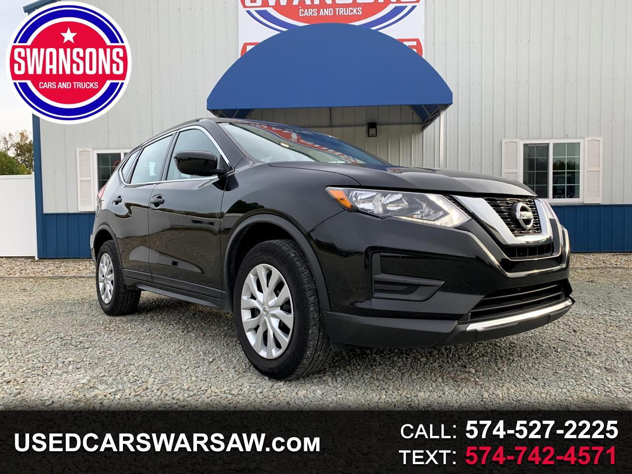 2017 Nissan Rogue AWD 4dr S