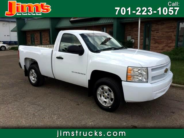 2008 Chevrolet Silverado 1500 Work Truck Short Box 2WD