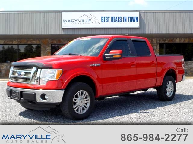 2012 Ford F-150 4WD SuperCrew Lariat