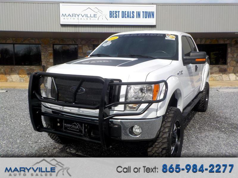 2014 Ford F-150 4WD SuperCab XLT