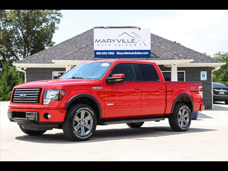 2012 Ford F-150 SUPERCREW FX4