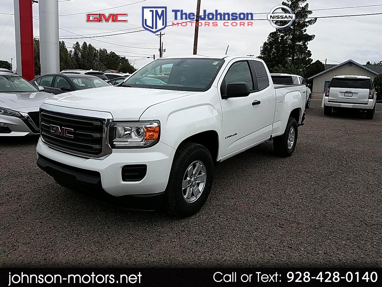 "GMC Canyon 4WD Ext Cab 128.3"" 2019"