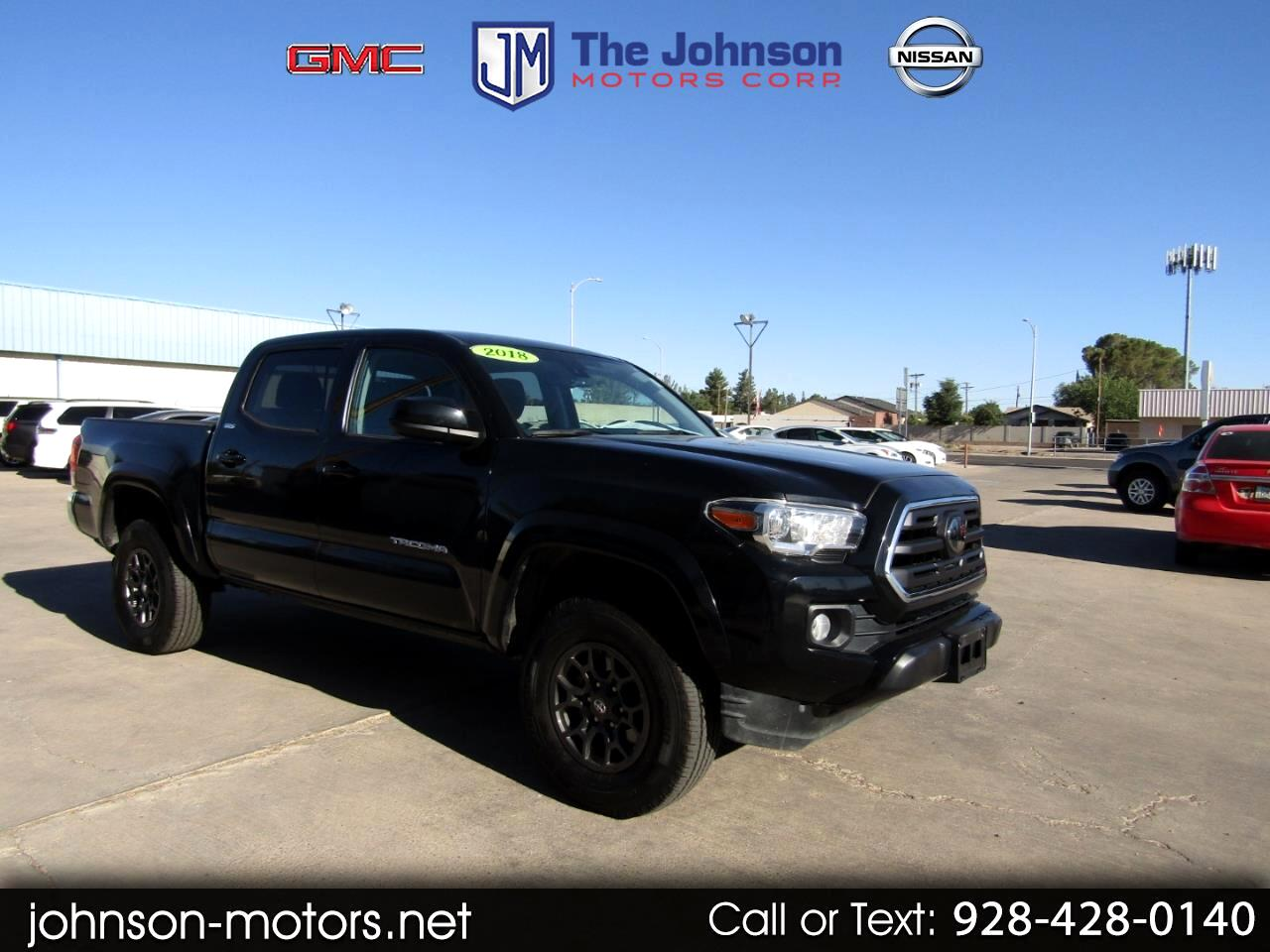 2018 Toyota Tacoma 4WD Double Cab LB V6 AT SR5 (Natl)