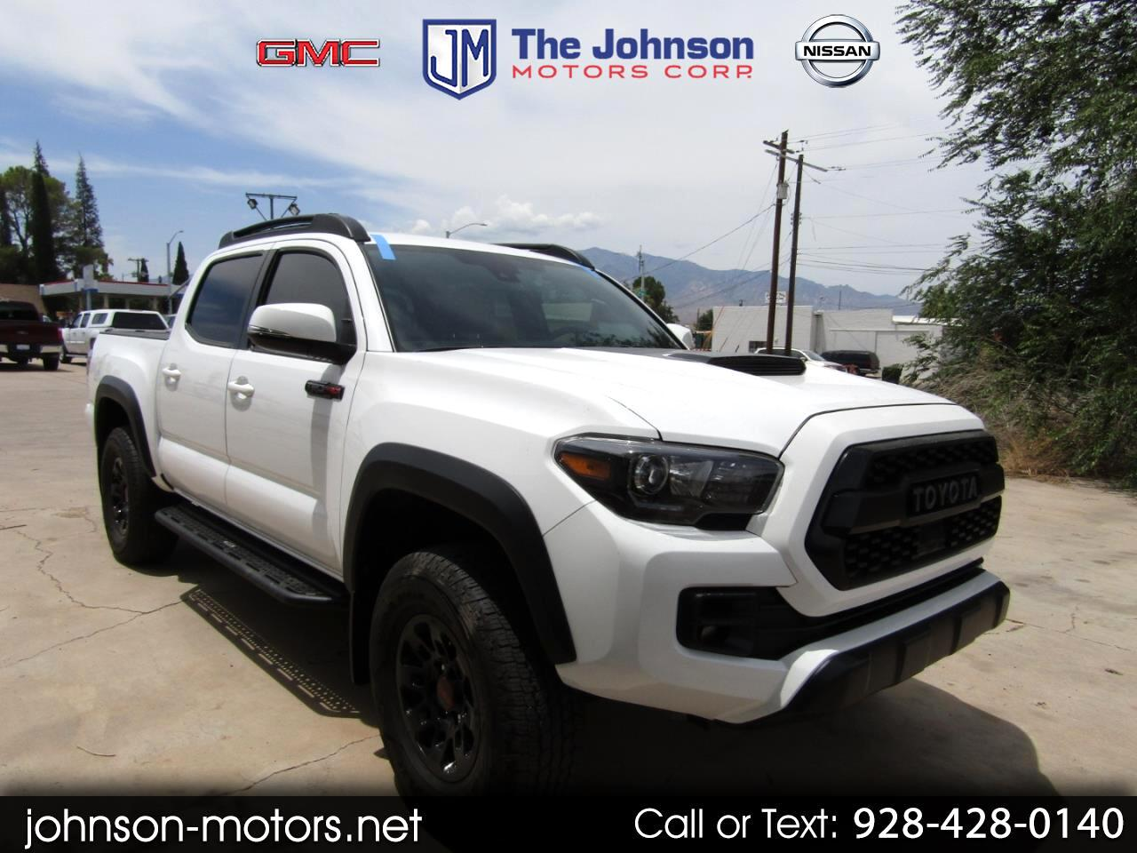 2018 Toyota Tacoma TRD Pro Double Cab 5' Bed V6 4x4 AT (Natl)