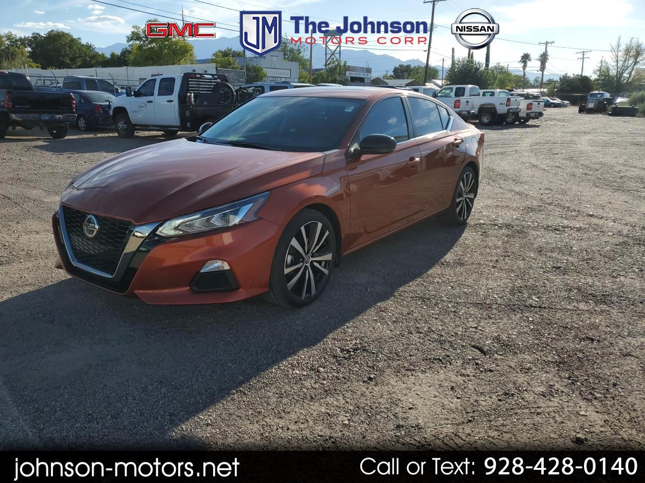 Nissan Altima 2.5 SR Sedan 2020