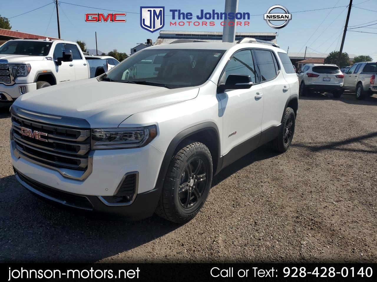 2020 GMC Acadia AWD 4dr AT4