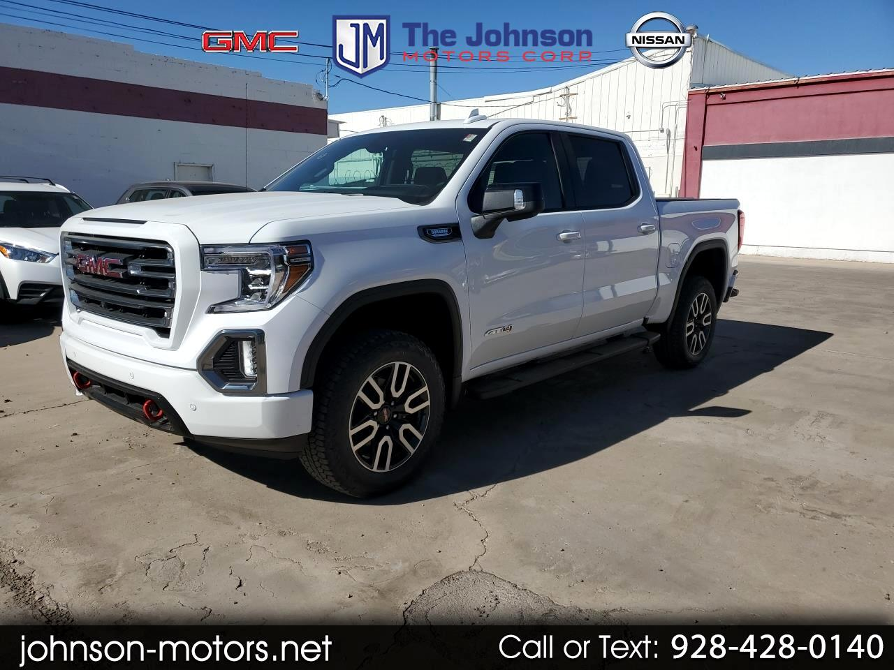 "2020 GMC Sierra 1500 4WD Crew Cab 147"" AT4"