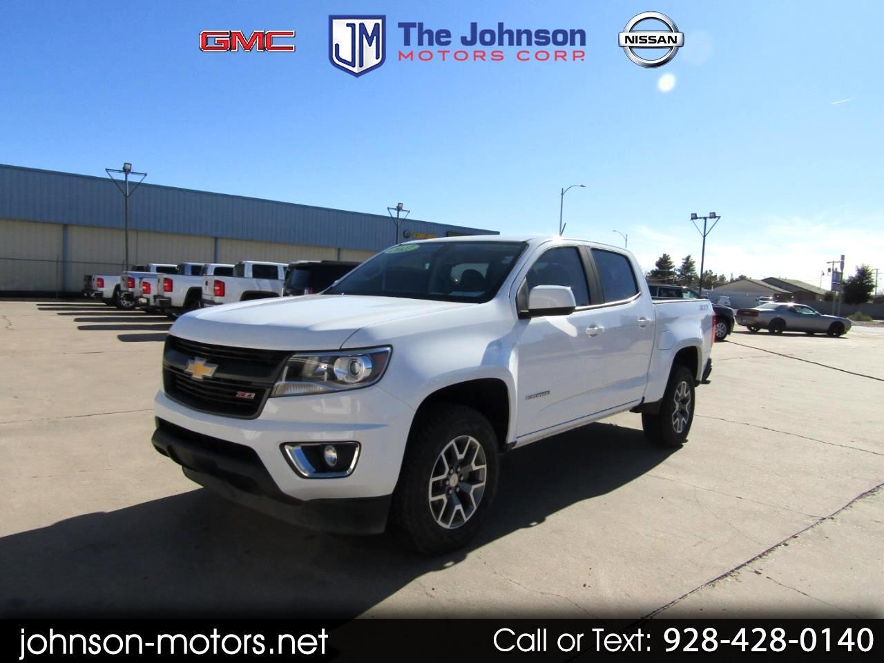 """Chevrolet Colorado 4WD Crew Cab 128.3"""" Z71 2017"""