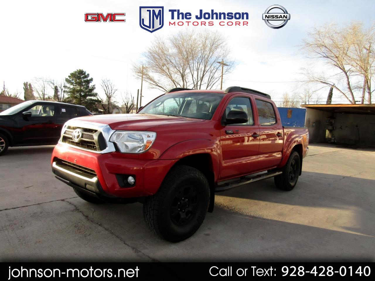 Toyota Tacoma 4WD Double Cab LB V6 AT TRD Off Road (Natl) 2015