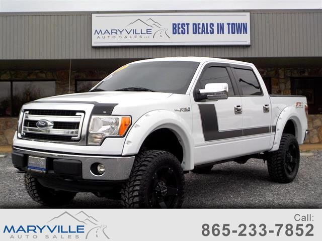 2013 Ford F-150 XLT 4WD SuperCrew