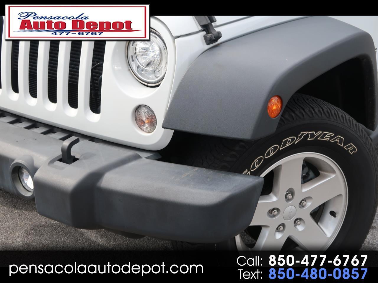 2017 Jeep Wrangler Unlimited Sport 4WD