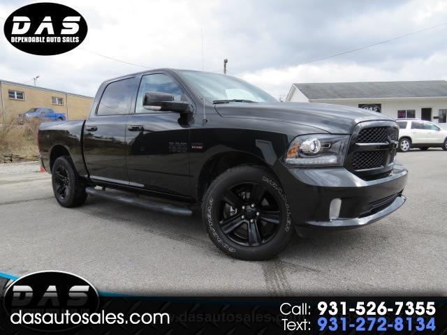 "2017 RAM 1500 Night 4x4 Crew Cab 5'7"" Box"