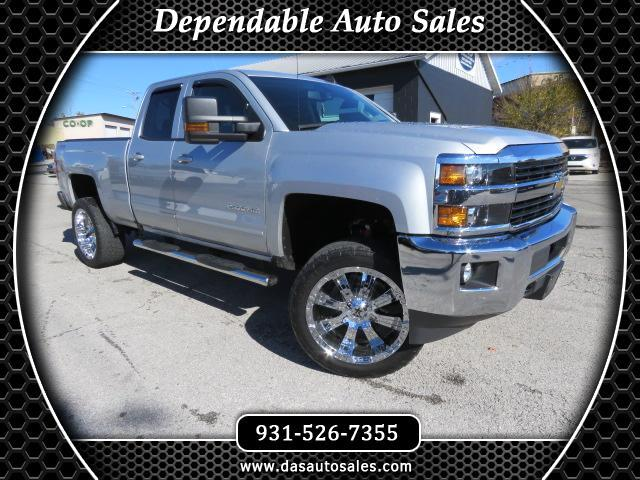 2016 Chevrolet Silverado 2500HD 4WD Double Cab 144.2
