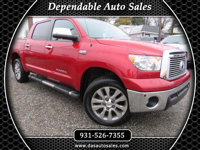 2013 Toyota Tundra 4WD Truck CrewMax 5.7L FFV V8 6-Spd AT LTD (Natl)