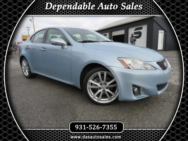 2011 Lexus IS 250 4dr Sport Sdn Man RWD