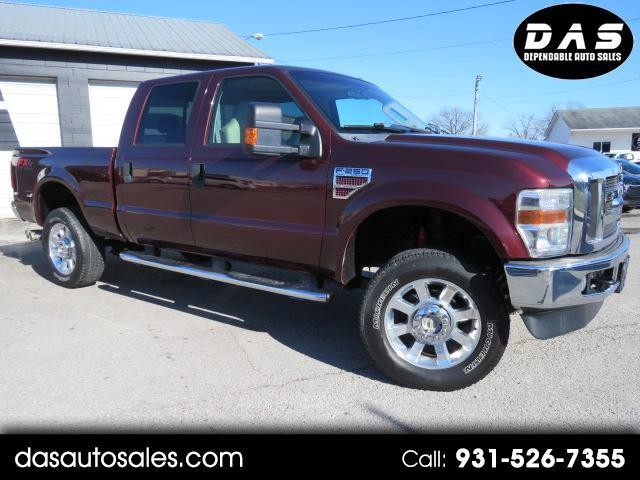 2009 Ford Super Duty F-250 SRW 4WD Crew Cab 156