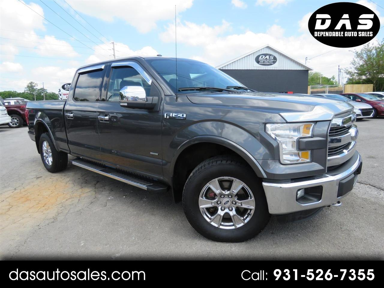 "2015 Ford 150 4WD SuperCrew 157"" XLT w/HD Payload Pkg"