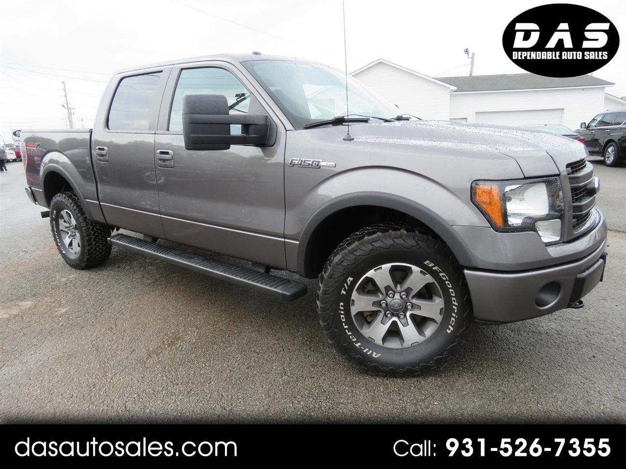 "2014 Ford 150 4WD SuperCrew 145"" XL"