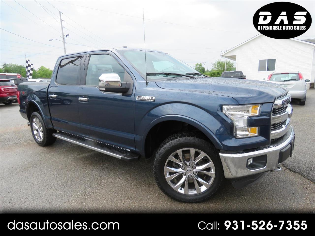 "2016 Ford 150 4WD SuperCrew 145"" XLT"