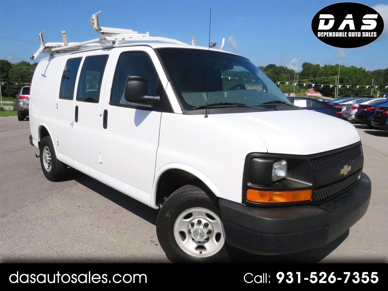 """2013 Chevrolet Express Cargo Van RWD 2500 135"""""""