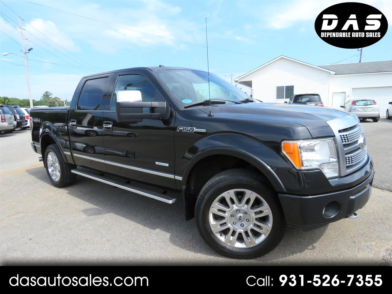 "2012 Ford 150 4WD SuperCrew 145"" XL"